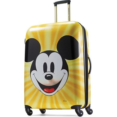 Disney Mickey Mouse Face 28'' Hardside Luggage