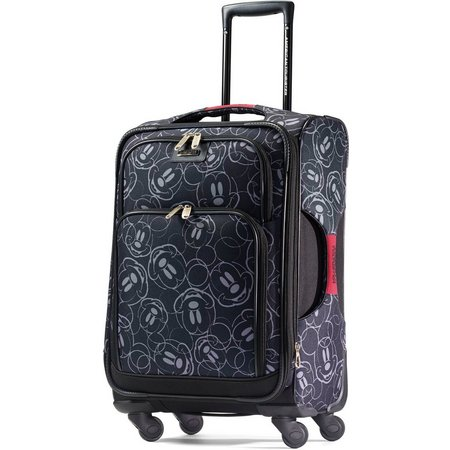 Disney Mickey Mouse Face 21'' Softside Luggage