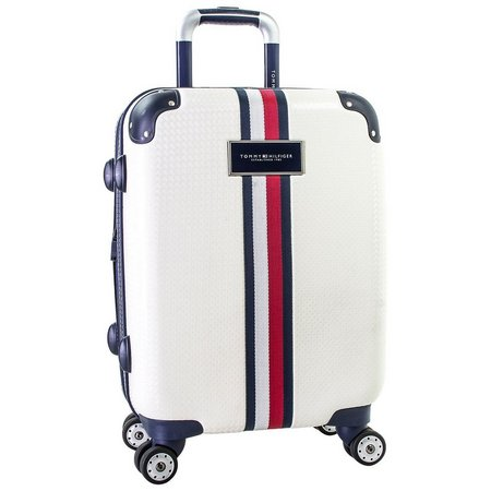 Tommy Hilfiger Basketweave 21'' Hardside Luggage