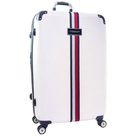 Tommy Hilfiger Basketweave 28'' Hardside Luggage