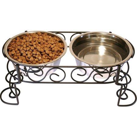 Ethical Pets Mediterranean 3-qt. Double Pet Diner