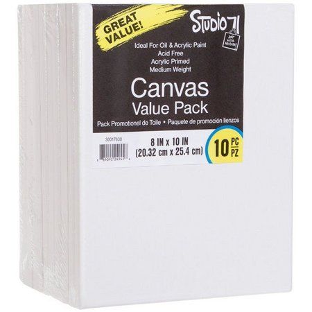 Darice Studio 71 10-pk. 8'' x 10'' Canvas