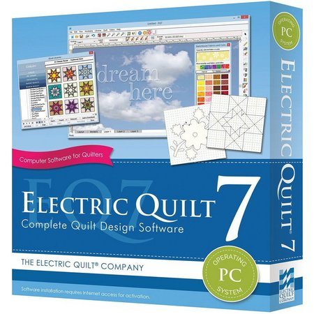 Electric Quilt 7 PC Software
