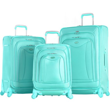 Olympia Luggage Luxe 3-pc. Luggage Set