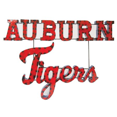 Auburn Tigers Recycled Metal Wall Decor
