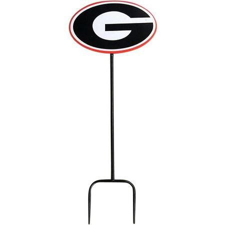 Georgia Bulldogs Wrought Iron Yard Stick