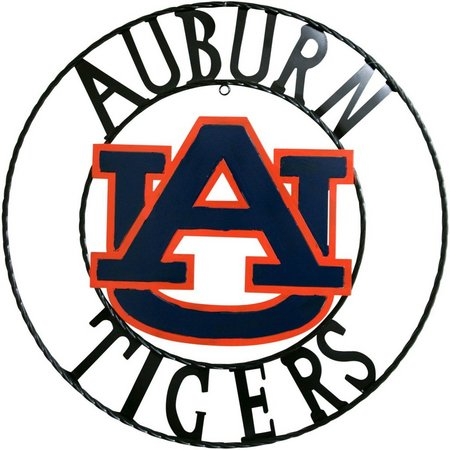 Auburn Tigers 18'' Wrought Iron Wall Decor