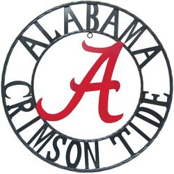 Alabama Crimson Tide 24'' Wrought Iron Wall Decor