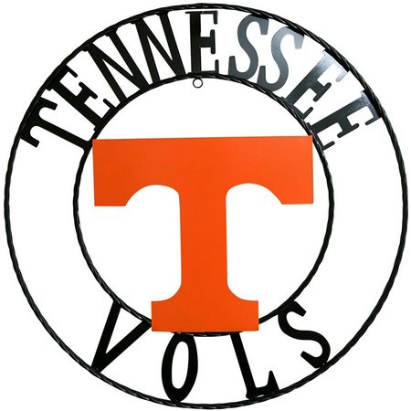 Tennessee 18'' Wrought Iron Wall Decor