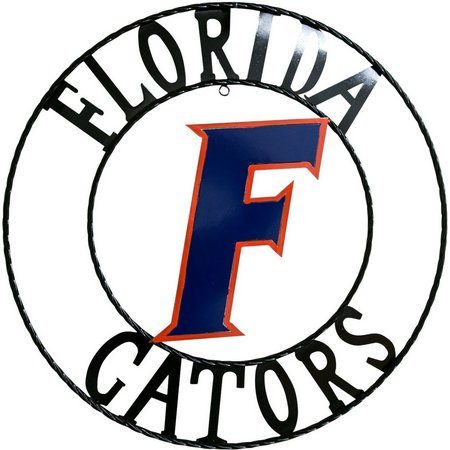 Florida Gators 24'' Wrought Iron Wall Decor