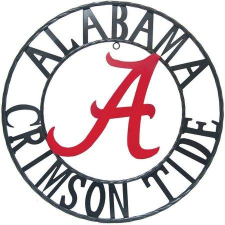 Alabama Crimson Tide 18'' Wrought Iron Wall Decor