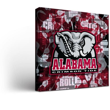 Alabama Fight Song Design Canvas Wall Art