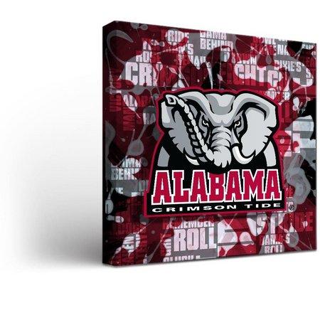 Alabama Fight Song Design Canvas Wall Art
