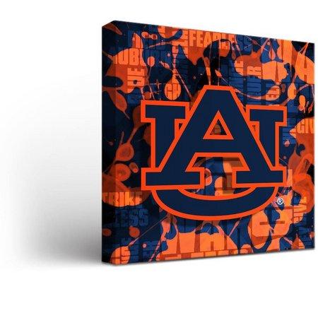 Auburn Tigers Fight Song Design Canvas Wall Art