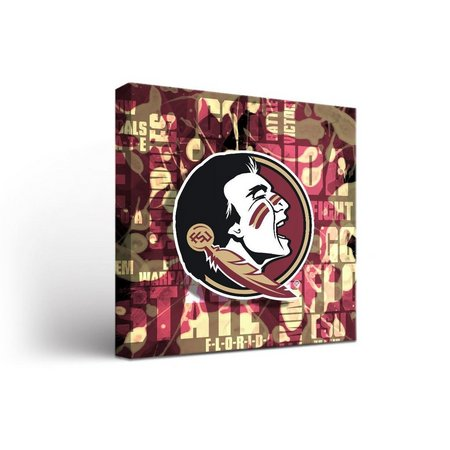 Florida State Fight Song Design Canvas Wall Art