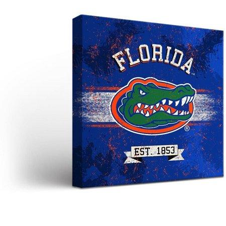 Florida Gators Banner Design Canvas Wall Art