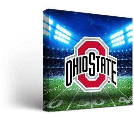 Ohio State Stadium Design Canvas Wall Art