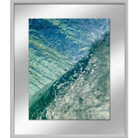 PTM Images In The Curl II Framed Wall