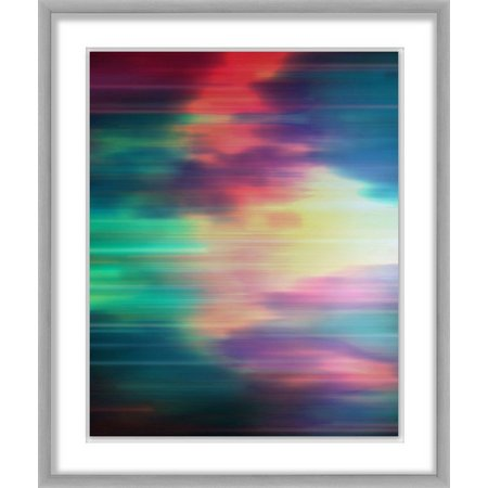 PTM Images Neon Galaxy II Framed Wall Art