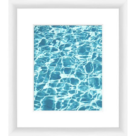 PTM Images Aquas I Framed Wall Art