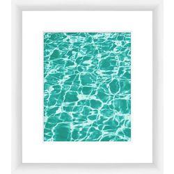 PTM Images Aquas II Framed Wall Art