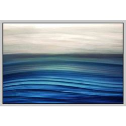 PTM Images Waves In Motion II Canvas Art