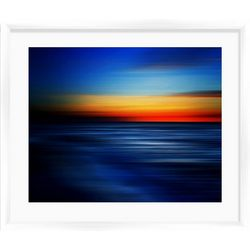 PTM Images Sea Waves I Framed Wall Art