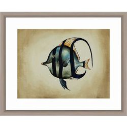 PTM Images Tropical Fish IV Framed Wall Art