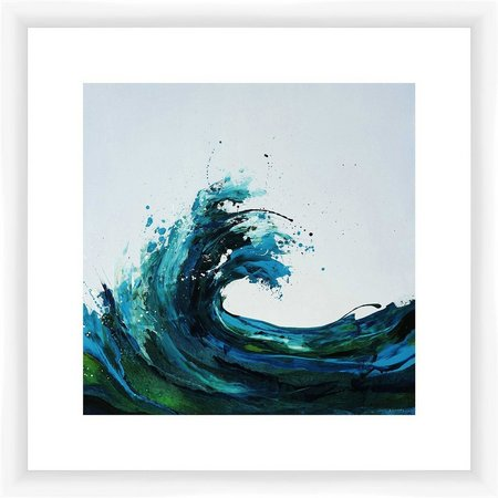 PTM Images Magnificent Wave Framed Wall Art