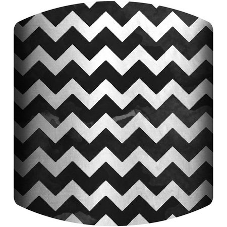 PTM Images Black & White Chevron Lamp Shade