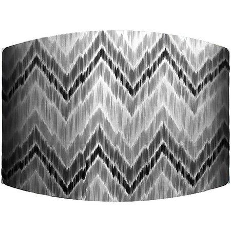 PTM Images Grey Zig Zag Lamp Shade