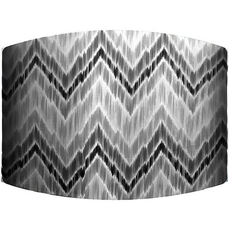 PTM Images Grey Zig Zag Lamp Shade