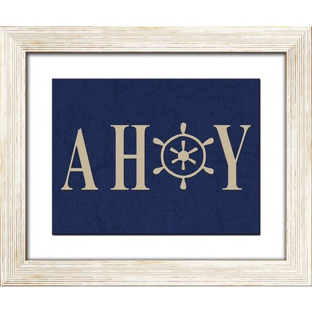 PTM Images Smooth Sail II Framed Wall Art