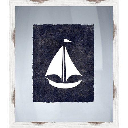 PTM Images Nautical Icons IV Framed Wall Art