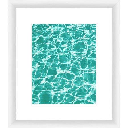 PTM Images Clear Aquas II Framed Wall Art