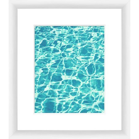 PTM Images Clear Aquas III Framed Wall Art