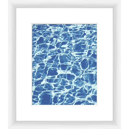 PTM Images Clear Aquas IV Framed Wall Art