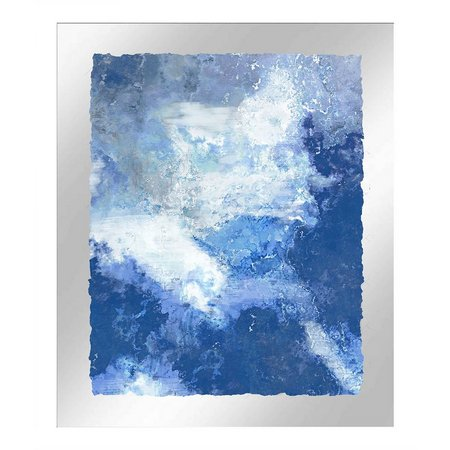 PTM Images Abstract Wave II Framed Wall Art