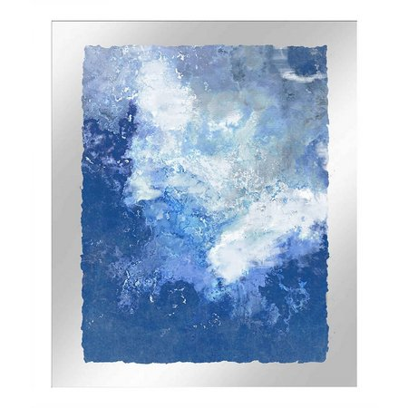 PTM Images Abstract Wave III Framed Wall Art