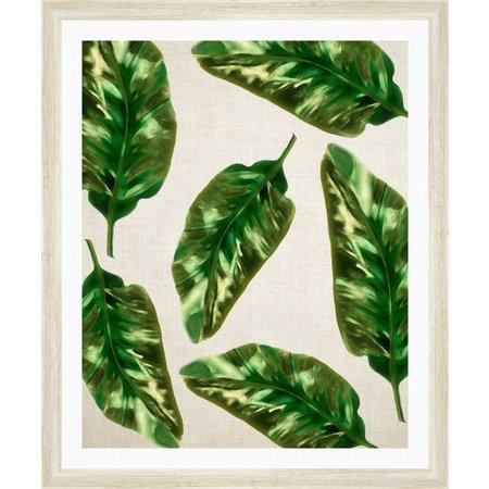 PTM Images Paradise Leaves I Framed Wall Art