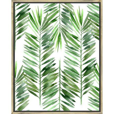 PTM Images The Palms I Framed Wall Art