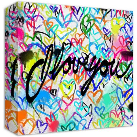 PTM Images I Love You Canvas Wall Art
