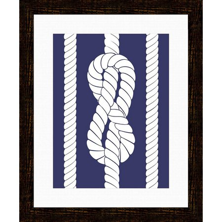 PTM Images Nautical Rope I Framed Wall Art