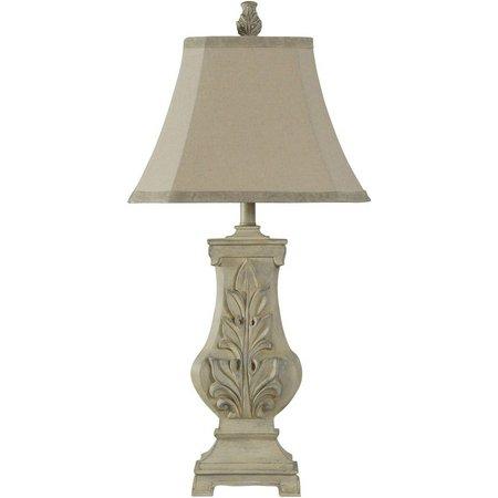 StyleCraft Hand Carved Bokava Table Lamp