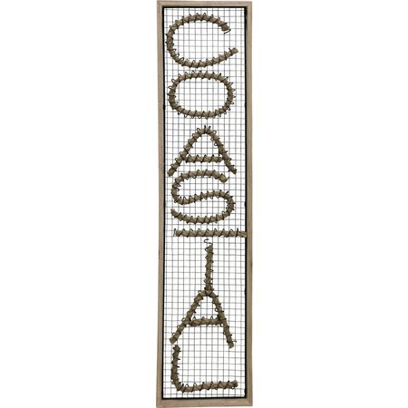 StyleCraft Coastal Metal Wall Decor