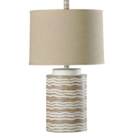 StyleCraft Contemporary McAllen Finish Table Lamp