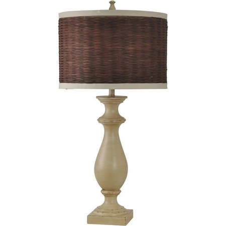 StyleCraft Coastal Inspired Natural Table Lamp
