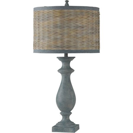 StyleCraft Coastal Inspired Blue Table Lamp