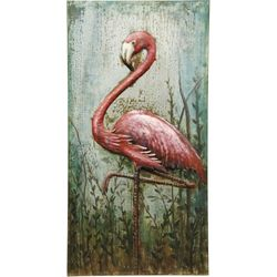 StyleCraft Metal Flamingo Wall Decor