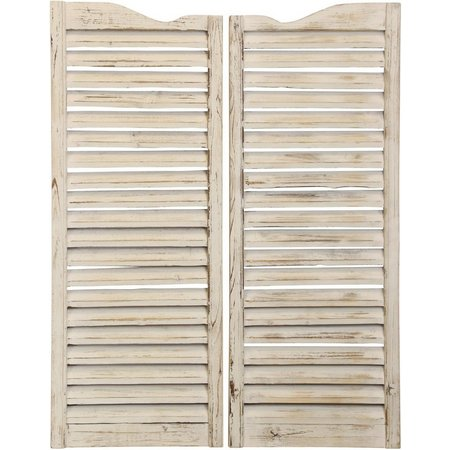 StyleCraft 2-pc. Weathered Shutters Wall Decor